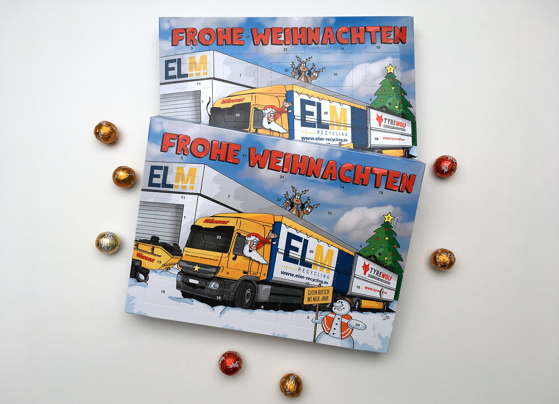 ELM Recycling GmbH & Co. KG – Adventskalender 2018